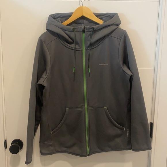 Eddie Bauer Outdoor zip up hoodie size XL
